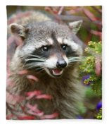 Mad Raccoon Fleece Blanket