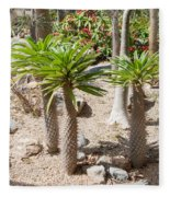 Madagascar Palms Fleece Blanket