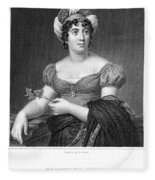 Madame De Sta�l (1766-1817) Fleece Blanket