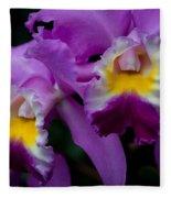 Maddie's Orchid Fleece Blanket