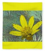 Magic Fern Flower 02 Fleece Blanket