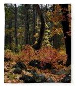Magic Forest  Fleece Blanket