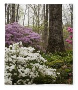 Magical Azaleas At Callaway Botanical Gardens Fleece Blanket