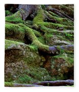 Magical Roots At Sabbath Day Fleece Blanket