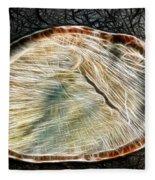 Magical Tree Stump Fleece Blanket