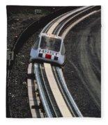 Maglev Train, Japan Fleece Blanket