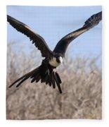 Magnificent Frigatebird  Fleece Blanket