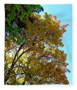 Magnificent Maples Fleece Blanket