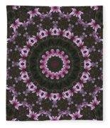 Magnolia  Diva Abstract Fleece Blanket