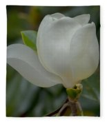 Magnolia Opening Fleece Blanket