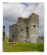 Magpie Mine - Sheldon In Derbyshire Fleece Blanket