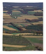 Mahantango Creek Watershed, Pa Fleece Blanket