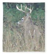 Majestic Buck Fleece Blanket
