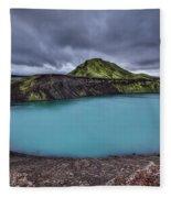 Majesty Of The Lake Fleece Blanket