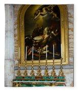 Malachite And Lapis Lazuli Altar Fleece Blanket