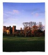 Malahide Castle, Co Fingal, Ireland Fleece Blanket