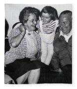 Mama Chris Mormor Colette Og Fufar Fleece Blanket