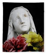 Mama Mary Fleece Blanket