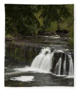 Manabezho Falls 1 Fleece Blanket