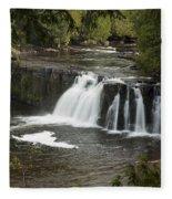 Manabezho Falls 2 Fleece Blanket