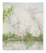 Mangrove Swamp Fleece Blanket