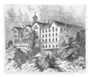 Manhattan College, 1868 Fleece Blanket