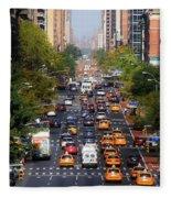 Manhattan Street Fleece Blanket