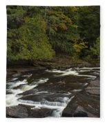 Manido Falls 7 Fleece Blanket