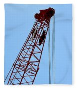 Manitowoc Skies Fleece Blanket