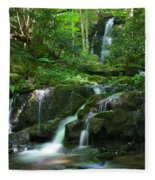 Mannis Branch Falls Fleece Blanket