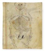 Mansurs Anatomy, Skeletal System, 15th Fleece Blanket