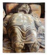 Mantegna: The Dead Christ Fleece Blanket