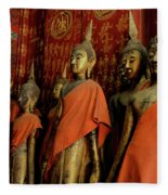Many Buddhas Fleece Blanket