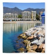 Marbella Bay Fleece Blanket