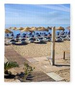 Marbella Holiday Beach Fleece Blanket