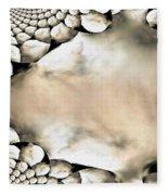 Marble Abstract Fleece Blanket