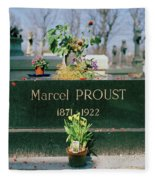 Proust Fleece Blanket