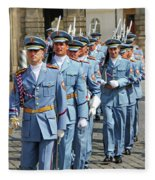 Marching Guards Fleece Blanket
