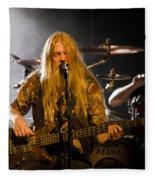 Marco Hietala And Jukka Nevalainen - Nightwish  Fleece Blanket