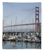 Marina At Golden Gate Fleece Blanket