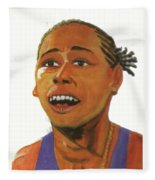 Marion Jones Fleece Blanket