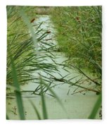 Marsh-field Ma Fleece Blanket