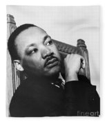Martin Luther King, Jr Fleece Blanket