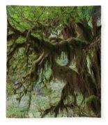 Marvelous Moss Fleece Blanket