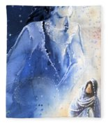 Mary Magdalene Fleece Blanket