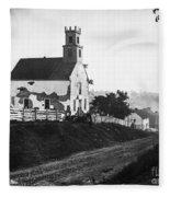 Maryland: Church, 1862 Fleece Blanket