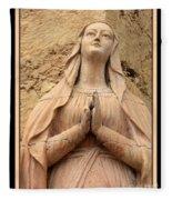 Mary's Prayers Fleece Blanket