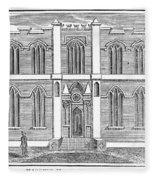 Masonic Hall, C1830 Fleece Blanket