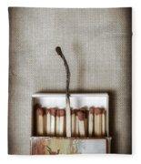Matches Fleece Blanket