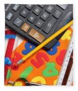 Mathematics Tools Fleece Blanket